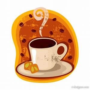 4-Designer   Cartoon coffee cup stickers 03 Vector