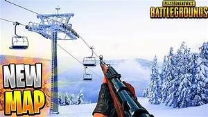 NEW PUBG SNOW MAP SNEAK PEAK NEW MAP RELEASE TIME