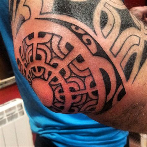 Polynesian Tribal Tattoo Band
