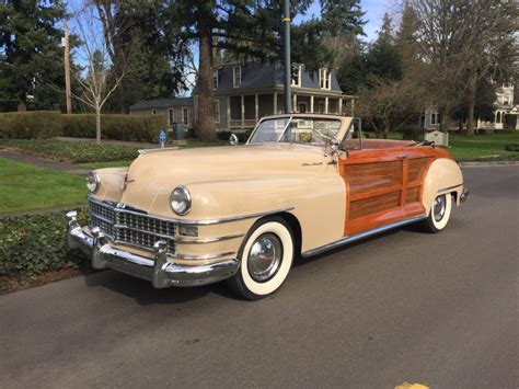 Lease A Chrysler Town And Country by 1948 Chrysler Town Country Convertible For Sale
