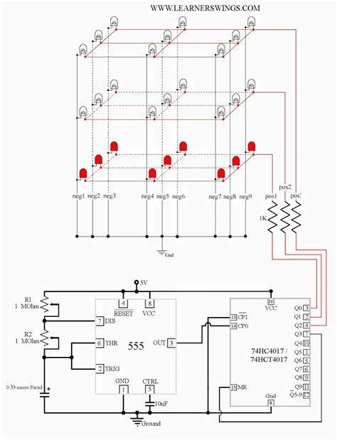 Timer Wiring Pin Diagram by Astable Multivibrator Using Timer Block Diagram Schemaw