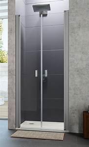 paroi de douche 2 portes battantes design huppe With porte douche huppe