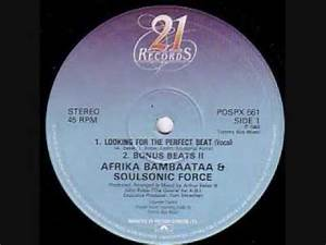 afrika bambaataa- looking for the perfect beat - YouTube