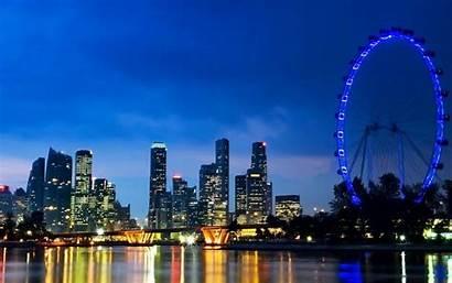 Singapore Skyline Wallpapers
