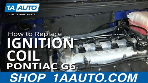 install replace engine ignition coil  pontiac