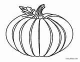 Pumpkin Coloring Printable Sheet Sheets Halloween Cool2bkids sketch template