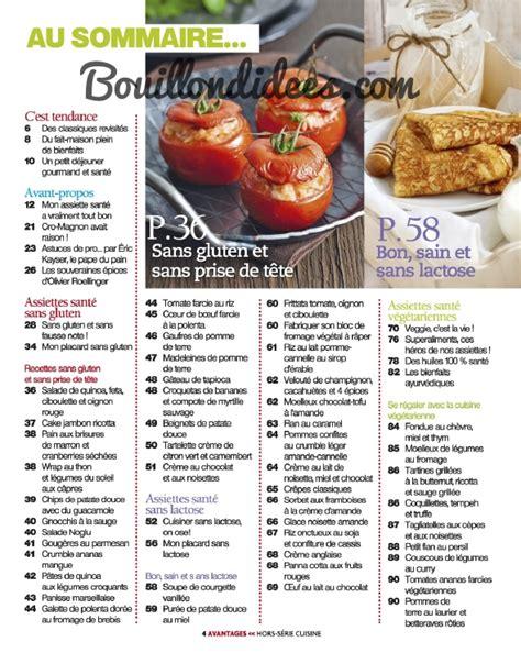 cuisine sans gluten et sans lactose hors série cuisine avantages spécial quot sans gluten sans