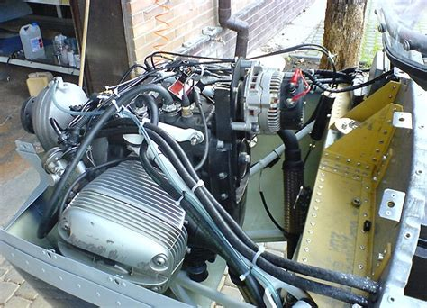 Bmw Motorcycle Engine Aircraft Conversion