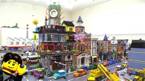 Lego Set by Lego Ninjago City Set Modular Buildings Together In A