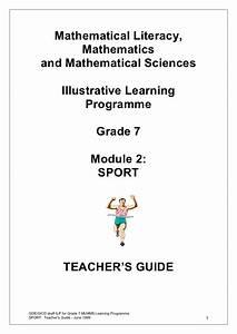 Mathematical Literacy  Mathematics And Mathematical