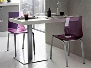Table De Cuisine Grise : table murale pour une cuisine plus sympa ~ Dode.kayakingforconservation.com Idées de Décoration