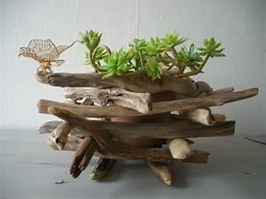 Cache Pot Bois : diy un cache pot nature ~ Teatrodelosmanantiales.com Idées de Décoration