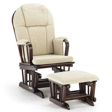shermag rocking chair cushions shermag glider rocker ottoman with beige cushion sam
