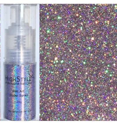 glitter spray hologram lilac  nadja beauty