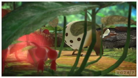 pikmin  screens show googly eyed enemies vg