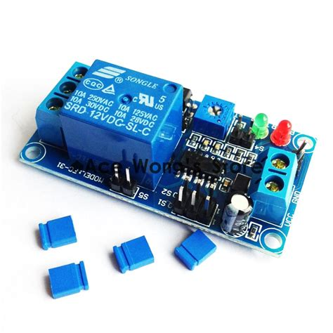 Pcs Delay Timer Relay With Adjustment