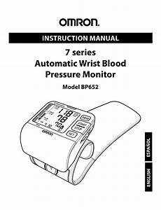 Omron Healthcare Bp652 User Manual