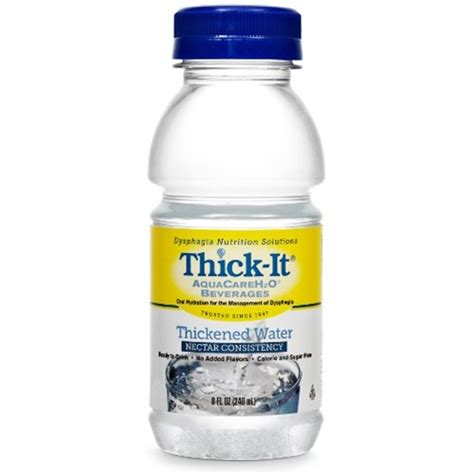 thick it aquacareh2o water nectar consistency woodbury