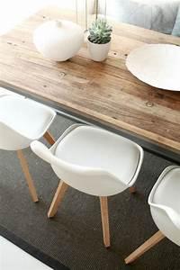 Table Salle à Manger Scandinave : la table de salle manger en 68 variantes ~ Teatrodelosmanantiales.com Idées de Décoration