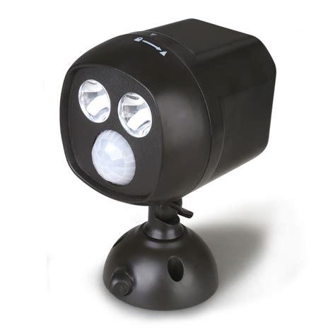 led motion sensor light battery powered battery operated wireless led spotlight motion sensor