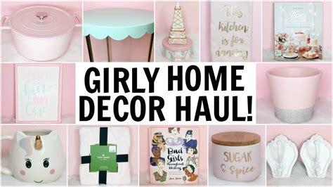 Girly Home Decor Haul ♡ Homegoods, Target, Tj Maxx, Hobby