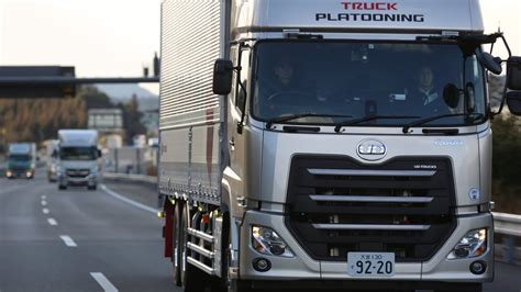 ud trucks quon quon platooning trial