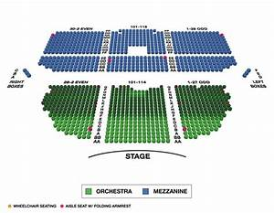 Stranahan Theater Seating Chart Nederlander Theater Seating Chart