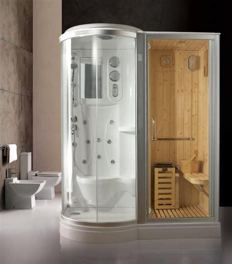 doccia sauna box doccia idromassaggio 168x95cm con sauna e cromoterapia vi
