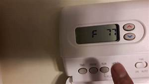 Diy How To Change Thermostat From Degree Celcius To