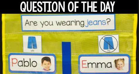 math picture books for preschool 546 | Question of the Day Printables for Preschool
