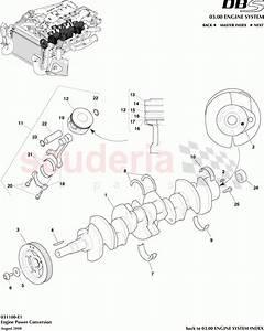 Aston Martin Dbs V12 Engine Power Conversion Parts