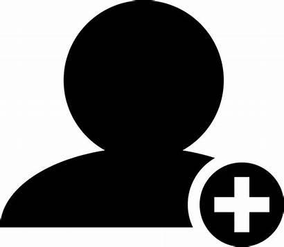Plus Sign Icon Symbol Person Circle Svg