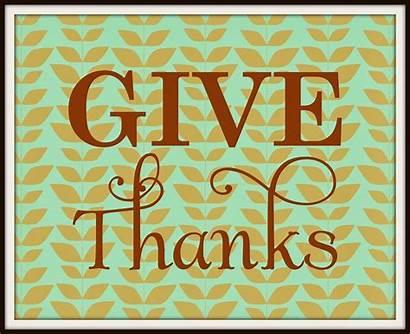 Thanks Give Printable 8x10 Wall Thanksgiving Dreamer