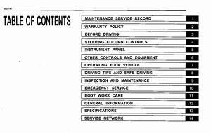 Suzuki Baleno 1999 Owner U0026 39 S Manual