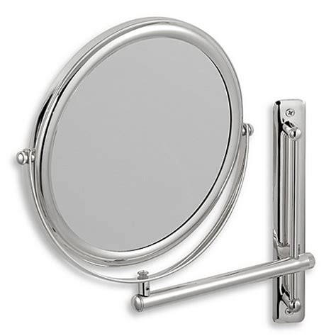 buy jerdon 3x 1x chrome finished wall mount mirror from