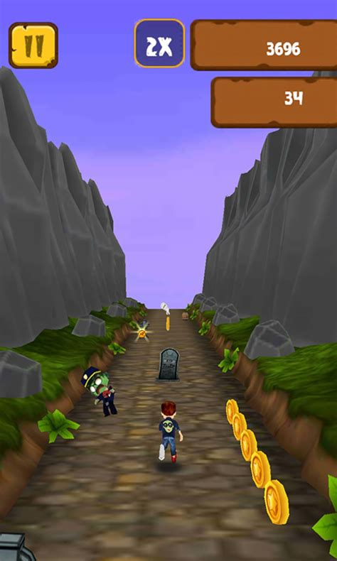 Temple Zombie Runner 3d Game For Android Download