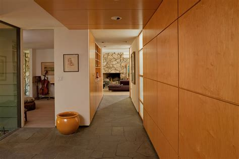 wood paneling  walls entry contemporary  built