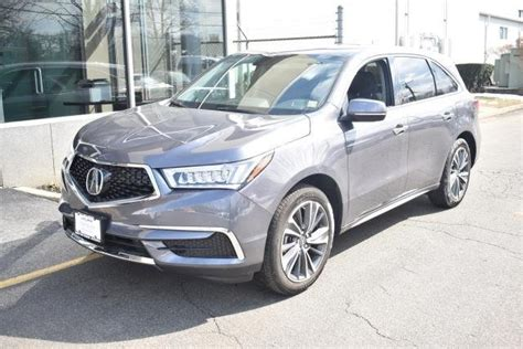 Pre Certified Acura by Certified Pre Owned 2018 Acura Mdx Sh Awd Sport Utility In