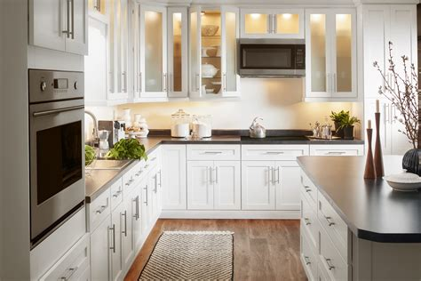 shaker flat panel valleywood cabinetry