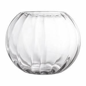 Vase Rond Transparent : acheter bloomingville vase en verre stri rond transparent amara ~ Teatrodelosmanantiales.com Idées de Décoration