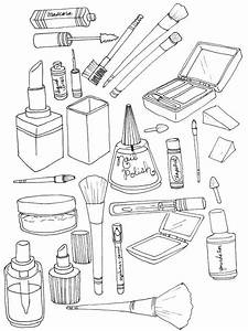 Princess Printables Free Cosmetic Coloring Pages To Download And Print For Free