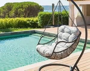 Fauteuil Suspendu Exterieur : fauteuil suspendu ext rieur jardin loveuse oeuf ~ Dode.kayakingforconservation.com Idées de Décoration