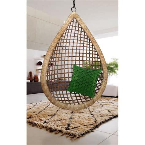 siege oeuf fauteuil suspendu bamboo fait forme goutte d 39 eau