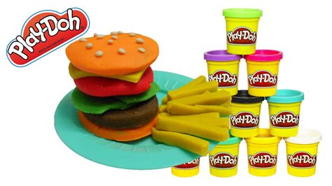 play doh cuisine play doh food hamburger playdoh traditional food in the