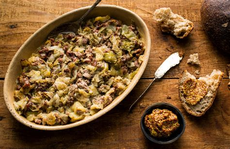sausage  cabbage recipe nyt cooking