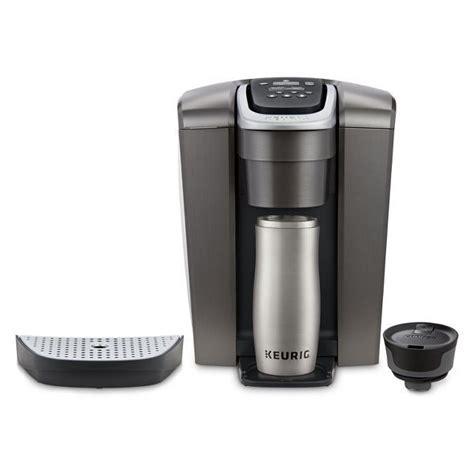 Shop for keurig elite coffee maker online at target. Keurig K-Elite Single-Serve K-Cup Pod Coffee Maker with Iced Coffee Setting - Gold   Pod coffee ...