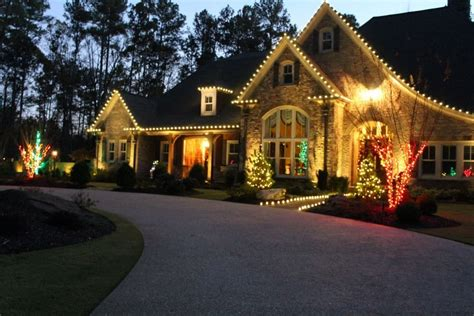 best way to set up christmas lights outdoor light display ideas
