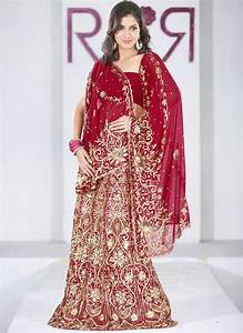 Indian dress lehenga choli and style 2016 2017 fashion for Red indian wedding dress