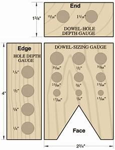 Wood Dowel Tool PDF Woodworking