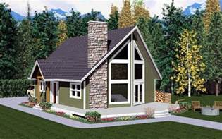 Beautiful Modified A Frame House by House Plan 99946 At Familyhomeplans